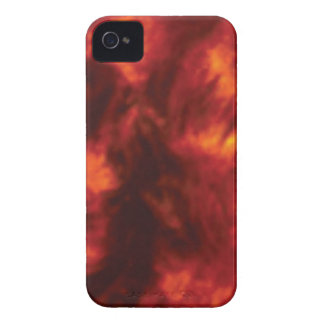 rote Flamme der Hitze iPhone 4 Case-Mate Hülle