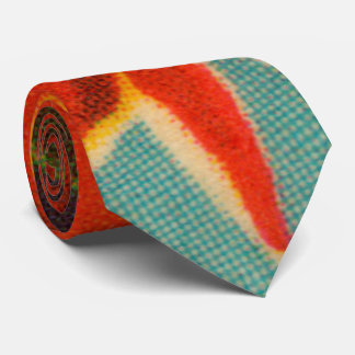 Rote Iris Personalisierte Krawatte