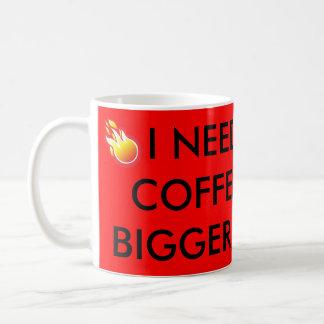 Rote Kaffee-Tasse mit unglaublich witzig Tasse