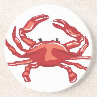 Rote Krabbe Untersetzer