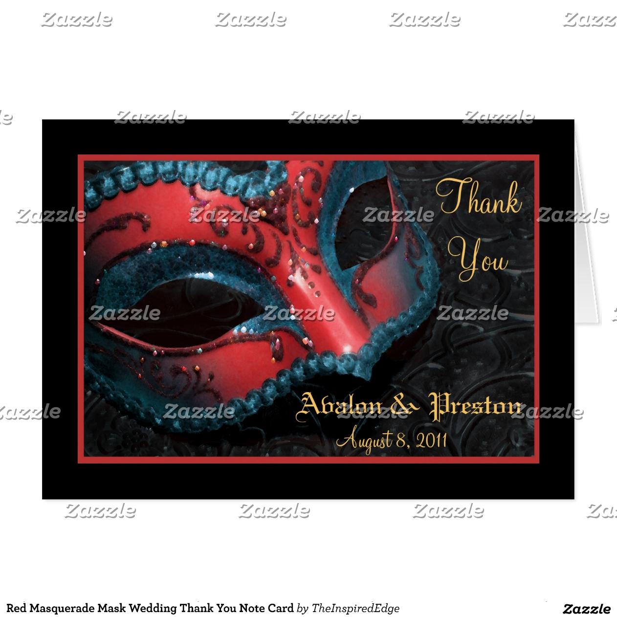 Maskerade-Hochzeits-Ideen