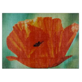 Rote Mohnblumen-Fotografie