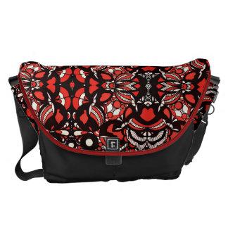Rote Neid-Bote-Tasche Kuriertasche
