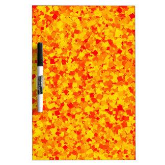 Rote Paprika-Soße DRUCK Schablone addieren Trockenlöschtafel