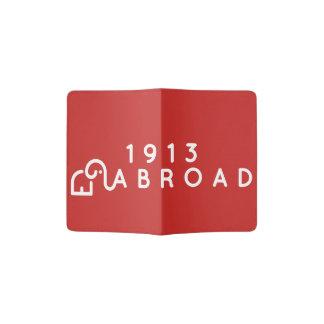 Rote Pass-Abdeckung Passhülle