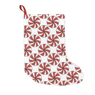 Rote Pfefferminz-Süßigkeit Mints WeihnachtsStrumpf Kleiner Weihnachtsstrumpf