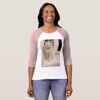 Rote Punkt Ragdoll Katze - Sitzen hübsch - Shirt