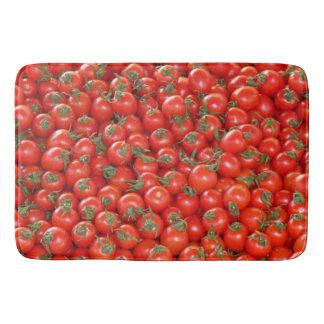 Rote Rebe-Tomaten Badematte