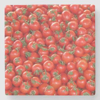 Rote Rebe-Tomaten Steinuntersetzer