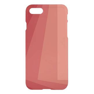 Rote Rechtecke in der Steigung iPhone 7 Hülle