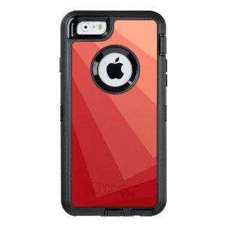 Rote Rechtecke in der Steigung OtterBox iPhone 6/6s Hülle