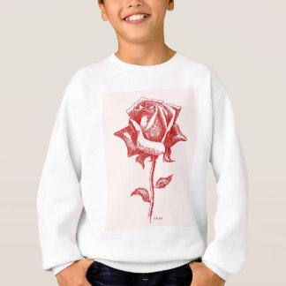 Rote Rose 16.jpg Sweatshirt