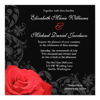 rosenhochzeit einladungen | zazzle.ch, Einladung