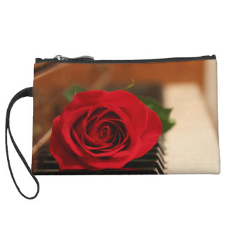 Rote Rose Kleine Clutch