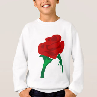 Rote Rose Sweatshirt