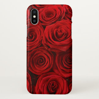 Rote Rosen iPhoneX iPhone X Hülle