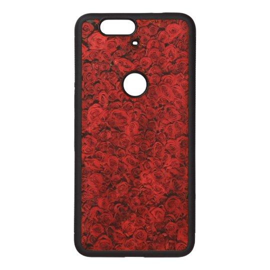 Rote Rosen Nexus 6P Holzhülle