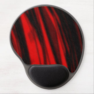 rote SamtMausunterlage Gel Mousepad