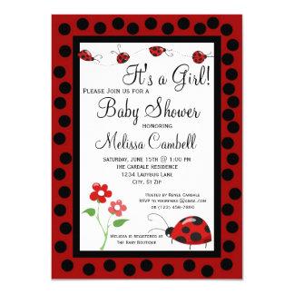 Rote schwarze 11,4 x 15,9 cm einladungskarte