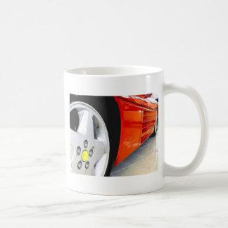 Rote Sport-Auto-Tasse Tasse