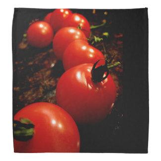 Rote Tomate Kopftücher