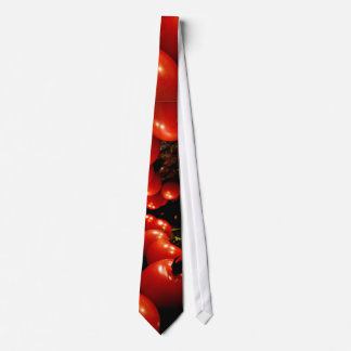 Rote Tomate Krawatte