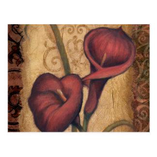 Rote Tulpen II Postkarte