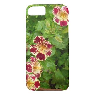 Rote und gelbe Tiger-Lilien-Blumen iPhone 7 Hülle