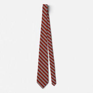 Rote und graue gestreiftes Muster-Krawatte 2 Individuelle Krawatten
