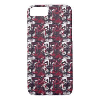 Rote weiße schwarze iPhone 8/7 hülle