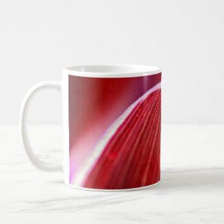 Rote Welle Kaffeetasse