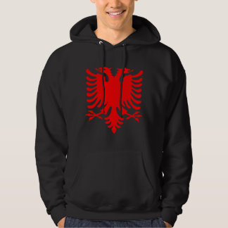 Roter Albaner Eagle Hoodie