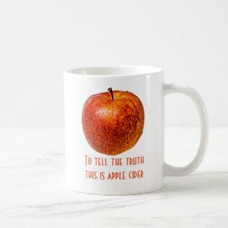 Roter Apfel Kaffeetasse
