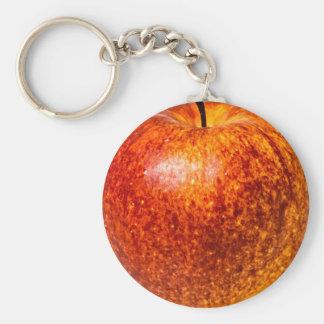 Roter Apfel Schlüsselanhänger