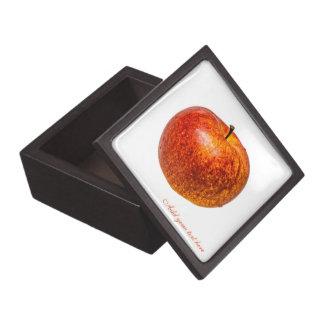 Roter Apfel Schmuckkiste