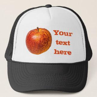 Roter Apfel Truckerkappe