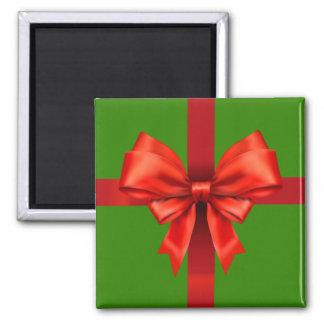 Roter Band-Bogen Quadratischer Magnet