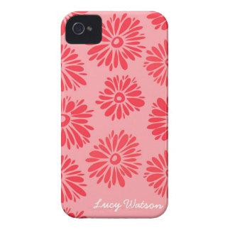 Roter Blumen iPhone 4/4S Kasten Case-Mate iPhone 4 Hülle