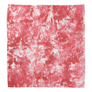 Roter Camouflage-Spritzer-MalereiBandana Kopftuch