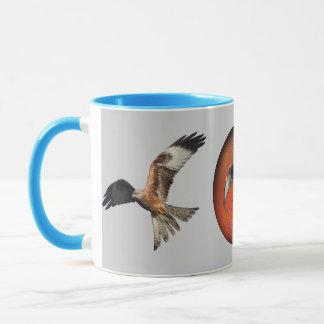 Roter Drachen-Raubvogel Tasse