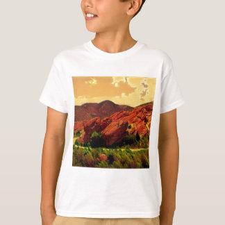 Roter Felsen-Park Denver Colorado T-Shirt