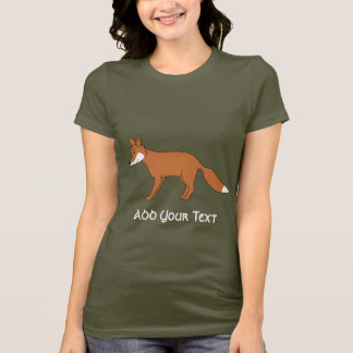 Roter Fox. T-Shirt