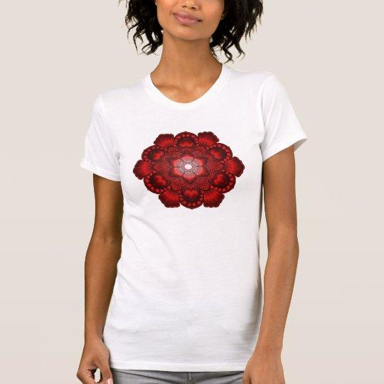 Roter Herz-T - Shirt
