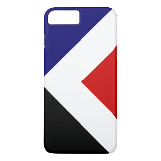 Roter Höchstneuseeland-Flaggenentwurf iPhone 8 Plus/7 Plus Hülle