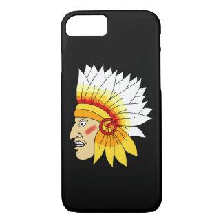 Roter indischer Kopf iPhone 8/7 Hülle