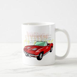 Roter KorvetteStingray oder Sting-Strahlnsportauto Tasse
