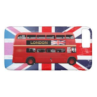 Roter London-Doppeldecker-Bus iPhone 8 Plus/7 Plus Hülle
