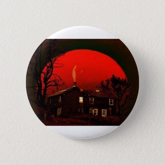 roter Mond Runder Button 5,7 Cm