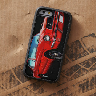 Roter Mustang-starker Xtreme iPhone 6 Fall Tough Xtreme iPhone 6 Hülle