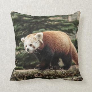 Roter Panda-Amerikaner Mojo Kissen
